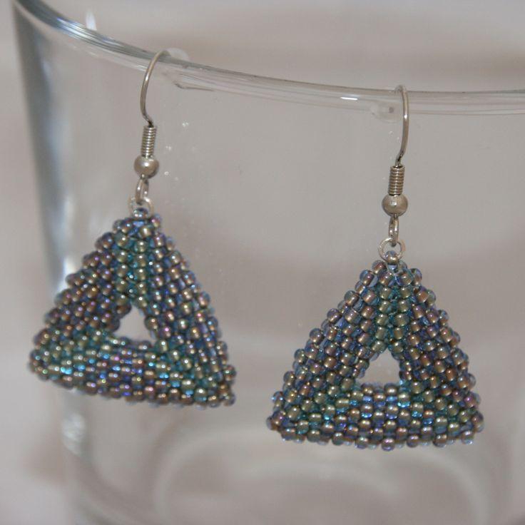 MEX JEWELLERY - Triangles, TOHO Beads