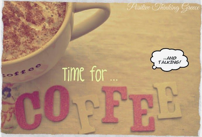 Time for coffee and talking