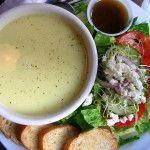 Minestra di uovo e limone, alla Greca: Avgolemono