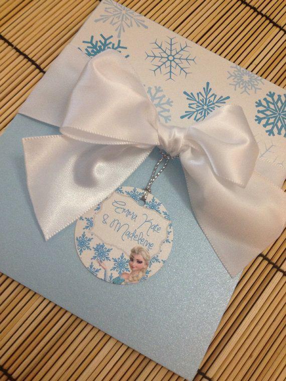 Disney Frozen Elsa Birthday Party Invitation by BirthdayPartyBox