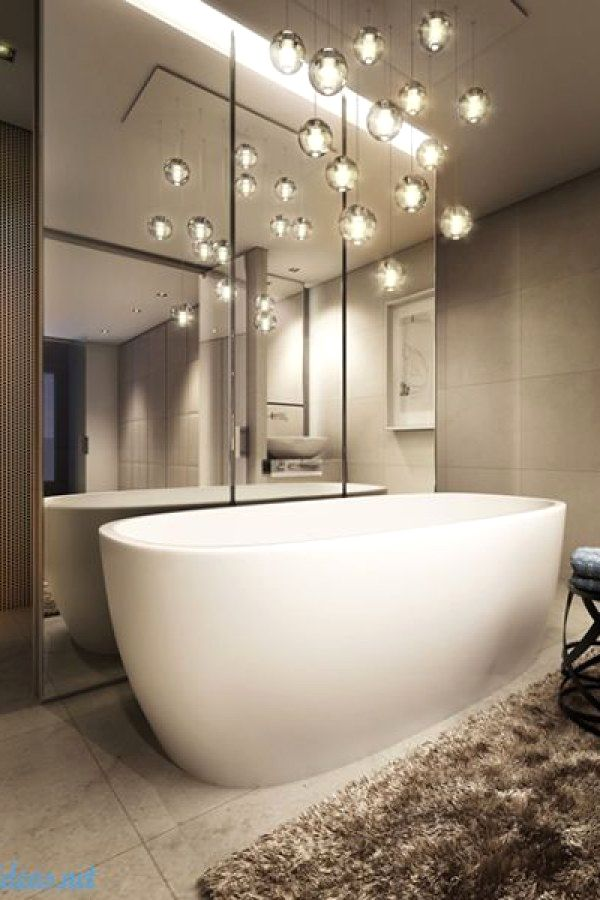 10 Easy Bathroom Lighting Projects To Complete Your Bathroom In Your Apartment Bath Bathroom Lighting Design Bathroom Mirror Design Bathroom Light Fixtures
