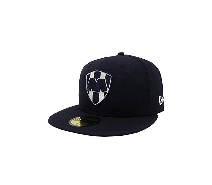 880209c9349 New Era 59Fifty Hat Rayados De Monterrey Liga Mexicana Navy Blue Fitted Cap  Review