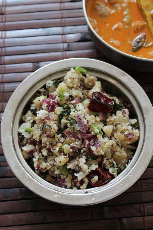 YUMMY TUMMY: வாழைக்காய் பொடிமாஸ் / Valakai Puttu (Podimas) / Raw Plantain with Onions, Spices & Coconut