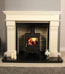 Image result for fireplace oven burner mottled marble surround