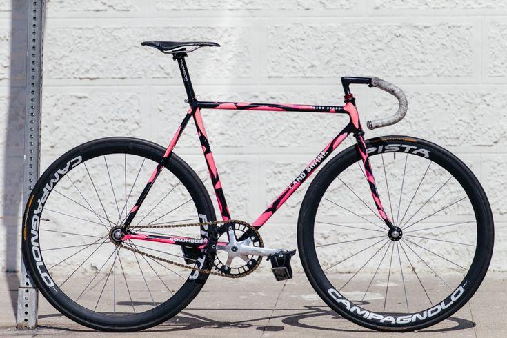 David's Pink and Black Track Shark | The Radavist