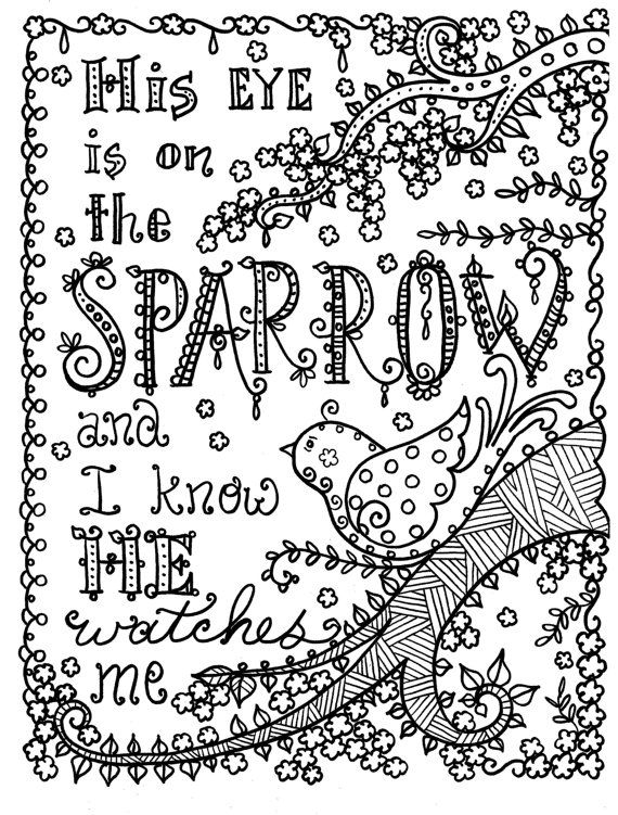 christian coloring pages with verses - photo #27