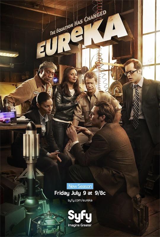 Eureka season 4 TV poster