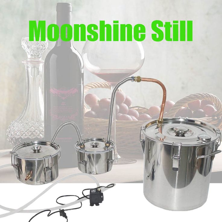 , also for essential oils ( perfumes, remedy, and liquors ) but most of all for high graded alcohol ( vodka ). Manual (it included how to make moonshine and recipes). Boiler Material: stainless steel ;. | eBay!