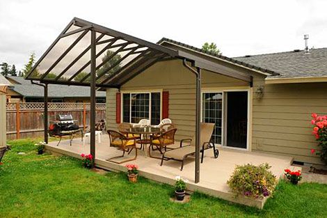 Deck covers ideas aluminum patio covers aluminum for Decking framework timber