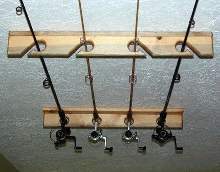 Luxury Fishing Rod Rack for Garage