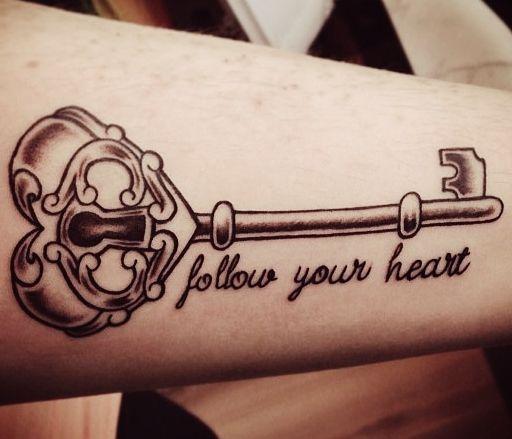 52 Fotos de tatuagens de chaves pra se inspirar | Tinta na Pele