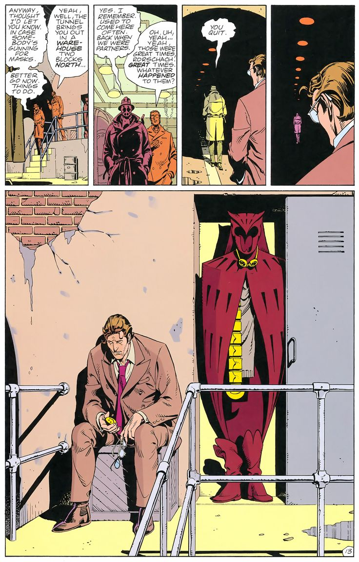 Watchmen Issue #1 - Read Watchmen Issue #1 comic online in high quality