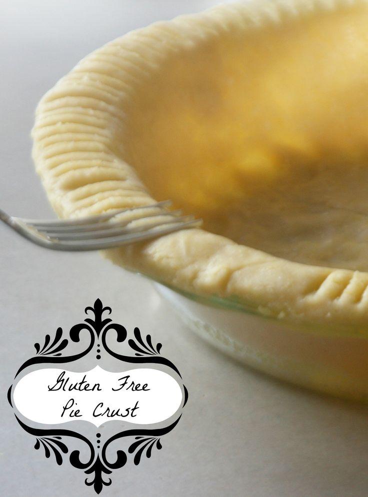 The perfect #GlutenFree #PieCrust