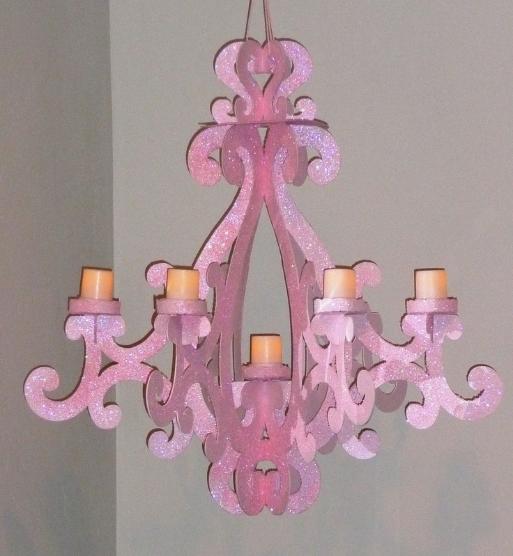 template inspiration for my cardboard chandelier