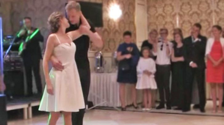 Bride & Groom Channel 'Dirty Dancing' For The Most Extraordinary Wedding Dance You'll Ever See | Country Music Nation