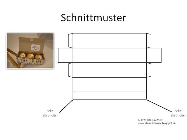 Anleitung für Box mit 3 Rocher-Kugeln