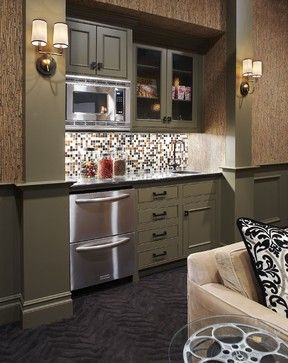 Basement Snack Bar Design Ideas, Pictures, Remodel, and Decor - page 6