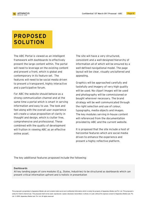 Project Proposal Template Designed In Ms Word By Varun Dhanda Via