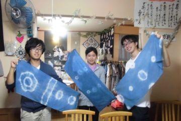 【岩手・大槌町・藍染体験】被災地で藍を育てる1年プロジェクト!藍染のストールをつくろう!の写真