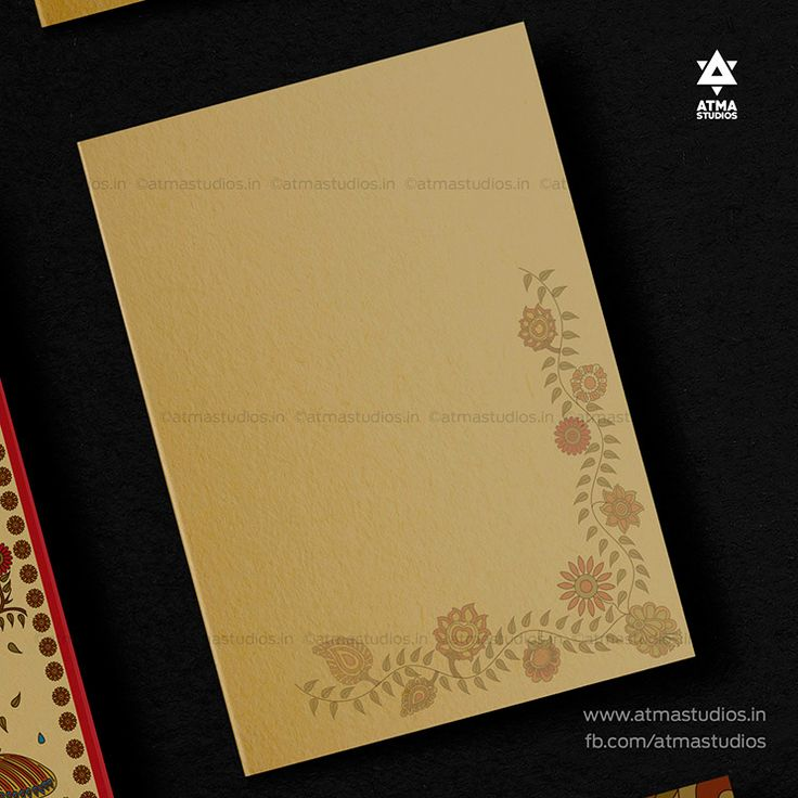wedding card manufacturers in tamilnadu%0A Kalamkari Wedding Invitation Design by Atma Studios