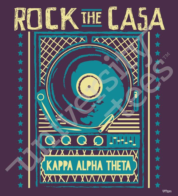 Fresh University Tees Kappa Alpha Theta