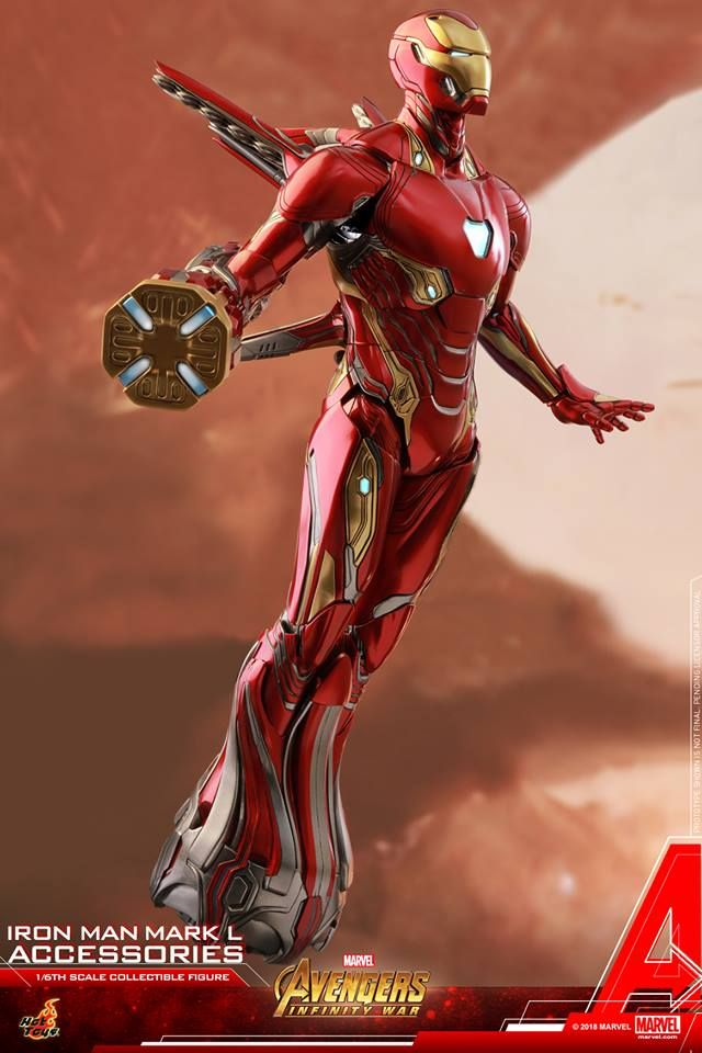 Hot Toys 1 6th Scale Iron Man Mark L Accessories Collectible Set