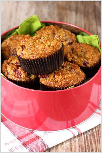Feed Me Better: Beztłuszczowe muffiny z kaszy jaglanej.