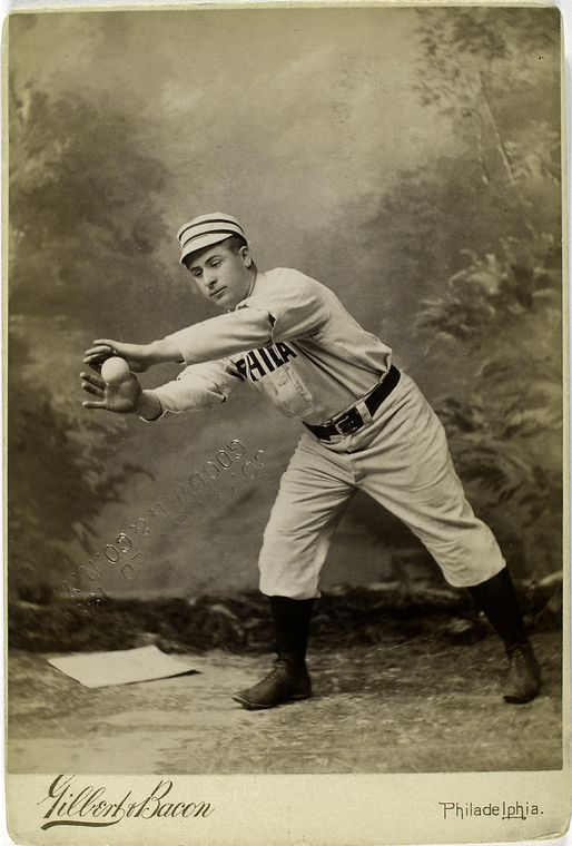 strange funny vintage baseball photos from the 1800s (26)