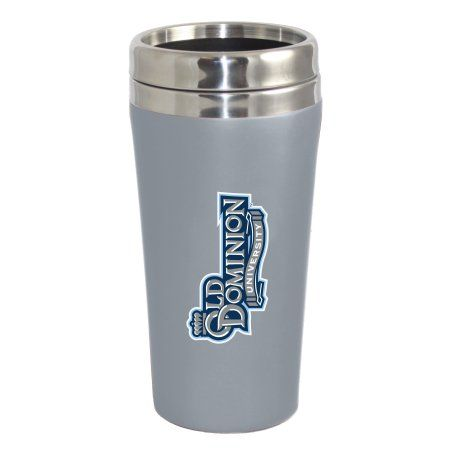 Old Dominion University Lions Double Walled Travel Tumbler, Silver