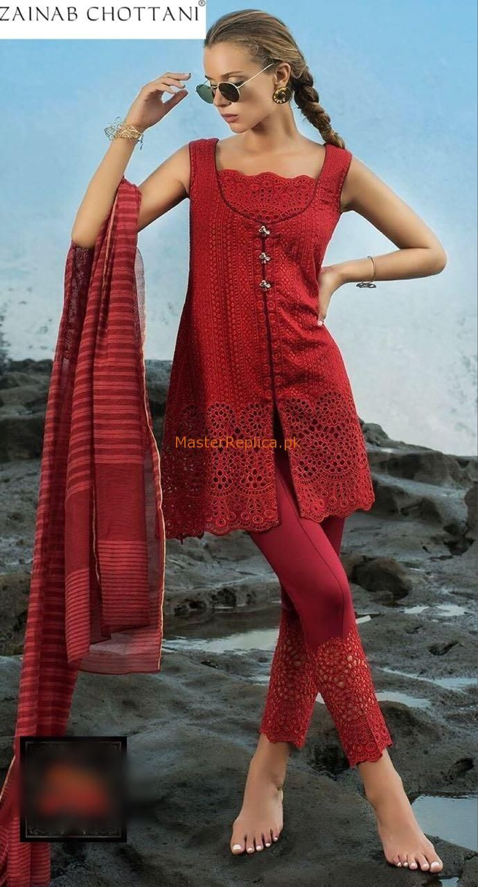 Zainab Chottani Luxury Embroidered Lawn Collection Replica Master Replica Classy Dress Outfits Pakistani Dress Design Pakistani Clothes Casual
