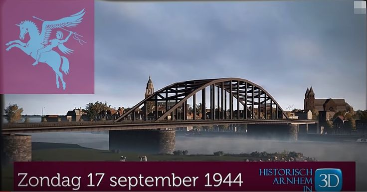 This video will take you back to 1944 in an amazing animation showing the area around the bridge at Arnhem as it looked before the…
