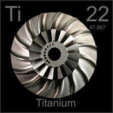 Titanio Elemento quimico - 22 Ti