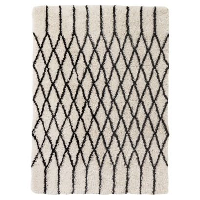 Targetu0027s Take On A Traditional Moroccan Berber Threshold™ Criss Cross Shag Area  Rug
