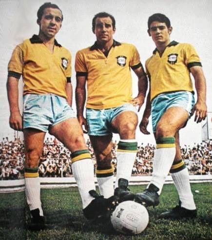 O trio canhoto da Seleção de 1970! Qual deles voce escolheria para seu time: Tostão, Gérson ou Rivellino?