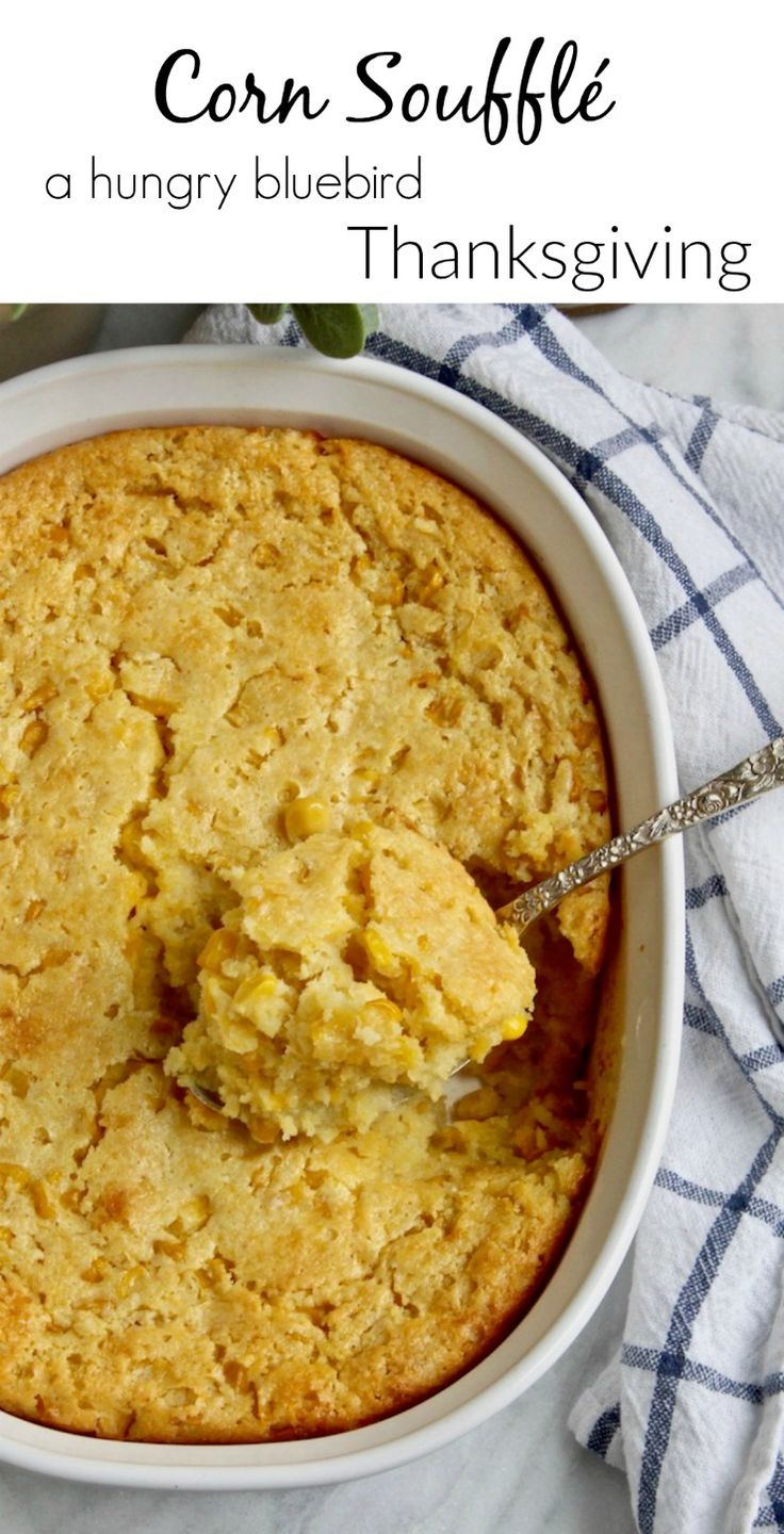 Easy corn casserole side, must have family favorite