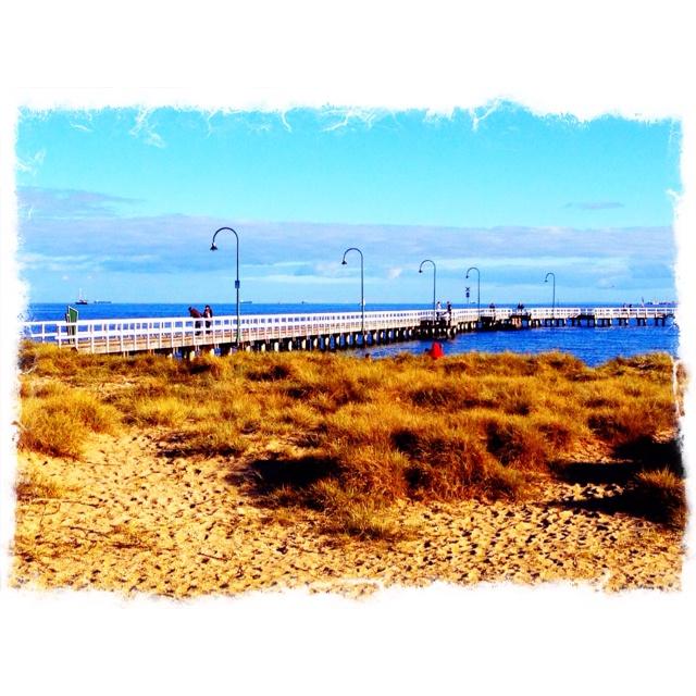 Port Melbourne in Autumn