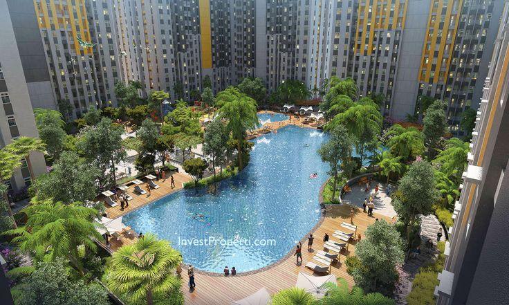 Kolam renang apartemen The SpringLake Summarecon Bekasi