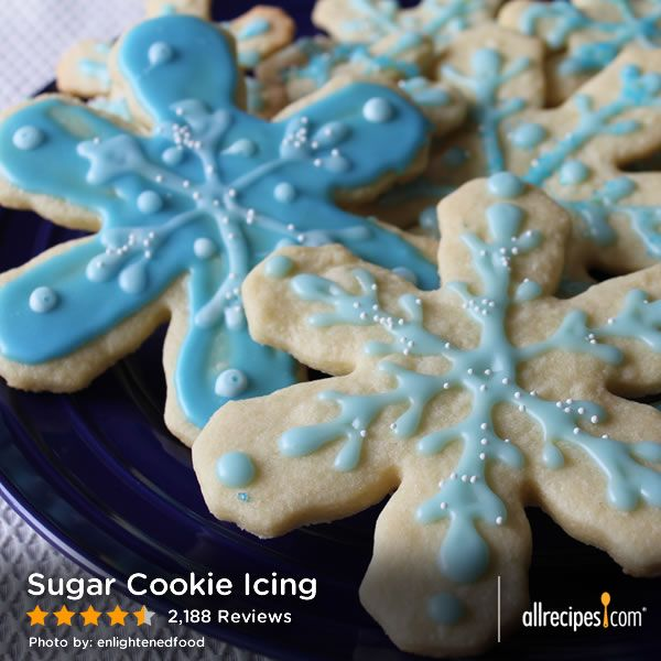 """Sugar Cookie Icing 