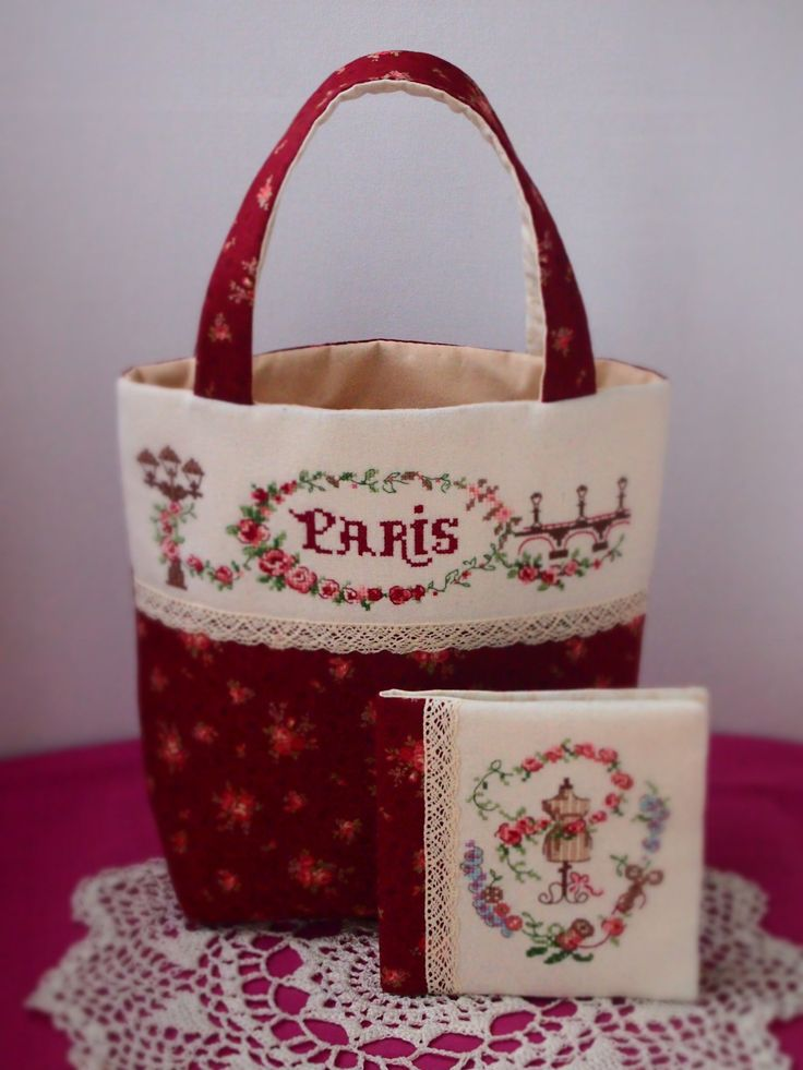 #lesbrodeusesparisiennes/ #crossstitch/  #crossstitchbag/