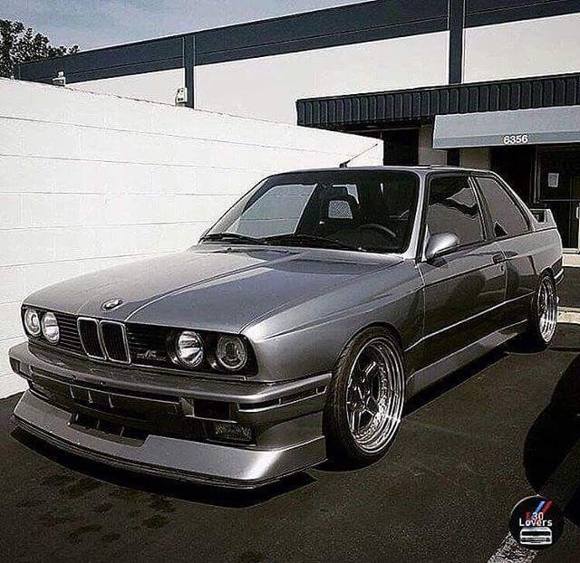 Bmw E30 M3 Grey With Images