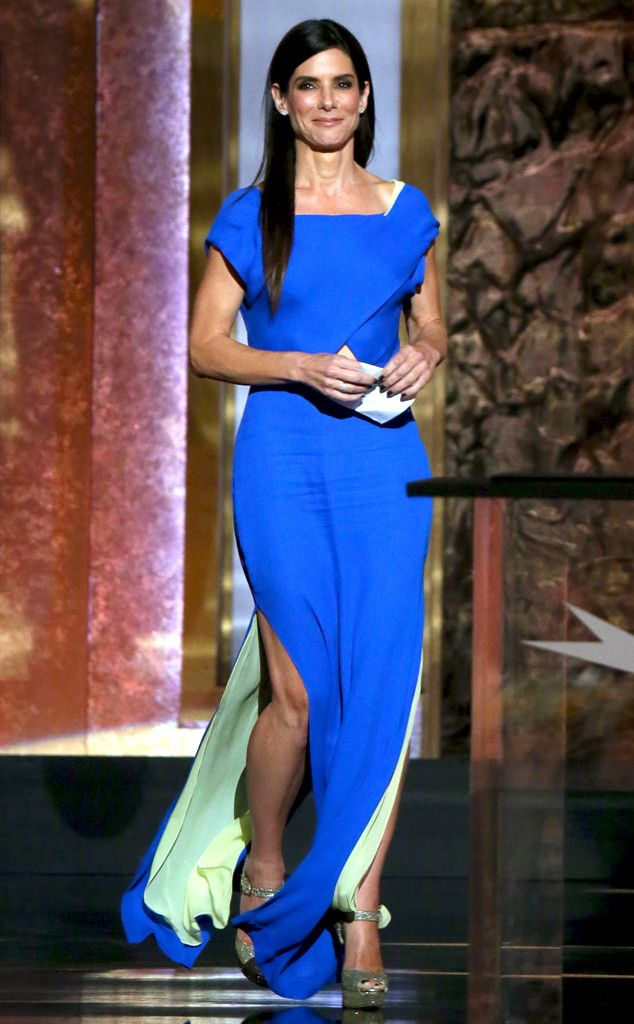 Cobalt Craze from Sandra Bullock's Best Looks | E! Online