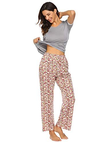 cc7d2ab87de6c4 Damen Schlafanzug Sommer Pyjama Set Baumwolle Jersey Frauen Nachtwäsche  Zweiteilig Hausanzug kurz Schlafshirt mit lang Hosen. Kurzer Damen-P… |  PINSHOP ...