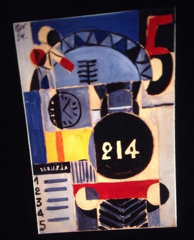 "Hector Ragni ""Engine 214"" Uruguay Modern Art 35mm Slide"