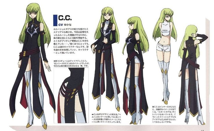 Code E Anime Characters : C black knights uniform character design code