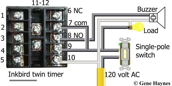Inkbird Twin Timer Electricidad Y Electronica Electricidad Electromecanica