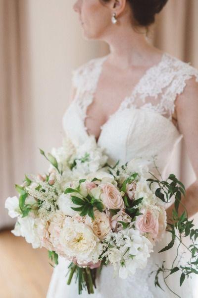 Secret garden bouquet: http://www.stylemepretty.com/california-weddings/topanga-canyon/topanga/2015/04/15/romantic-wedding-inspiration/ | Photography: Anna Delores - http://www.annadelores.com/