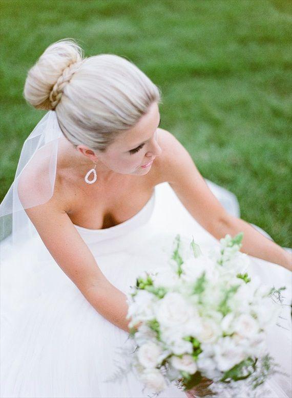 DIY Braided Bun Hairstyle (photo: leslee mitchell)
