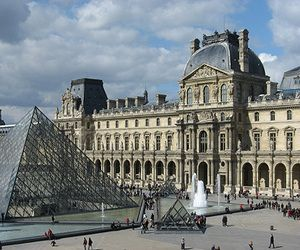 The Louvre Art Museum Paris