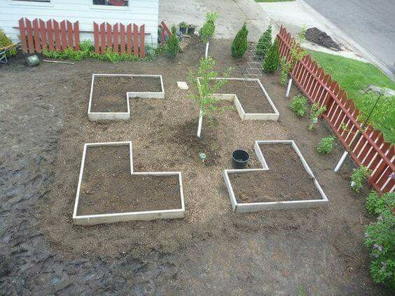 785 Best Images About Garden Layout On Pinterest | Raised Beds