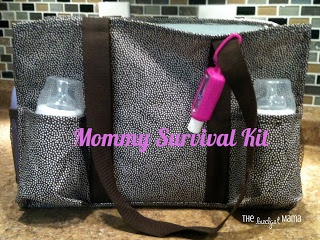 The Budget Mama: Mommy Survival Kit...great baby shower gift!  (uses a 31 bag!)